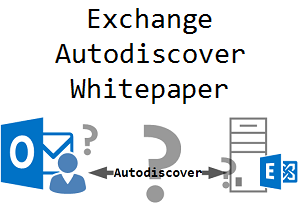 Exchange Server Autodiscover Whitepaper