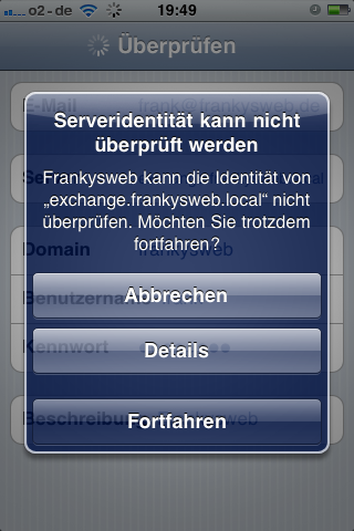 Mobile: Einrichtung aktueller Smartphones für Exchange Server 2010 ...