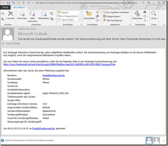 e mail richtlinien