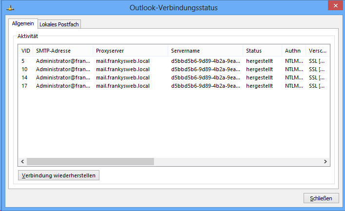 Exchange 2013 Testsystem Mit Database Availability Group