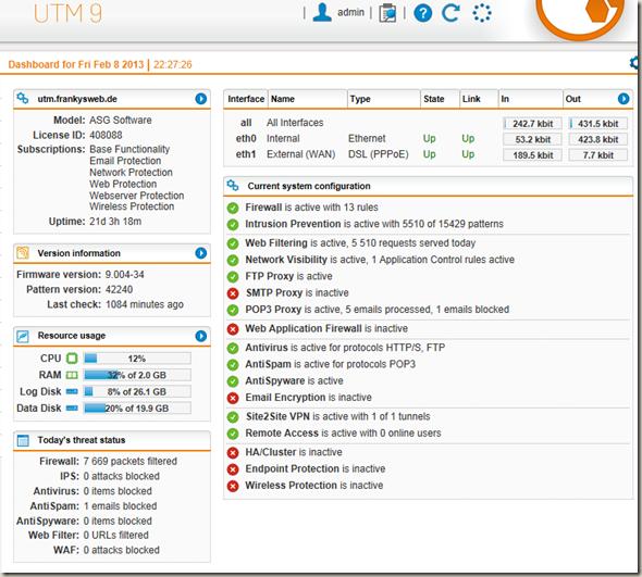 Sophos UTM Firewall