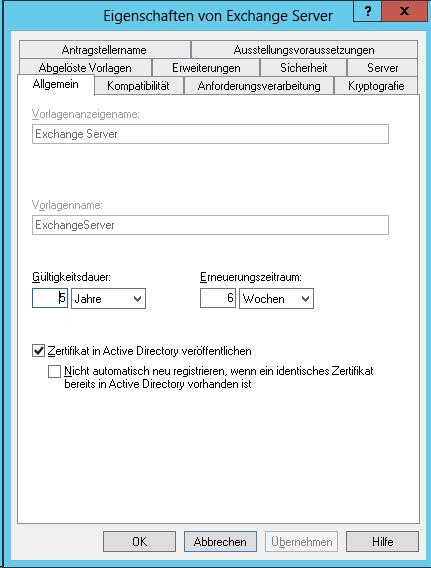 Interne Zertifizierungsstelle Zertifikate Mit Einer Gültigkeit Von