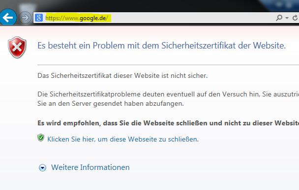 Untergeordnete Zertifizierungsstelle für Sophos UTM HTTPS CA (Web ...