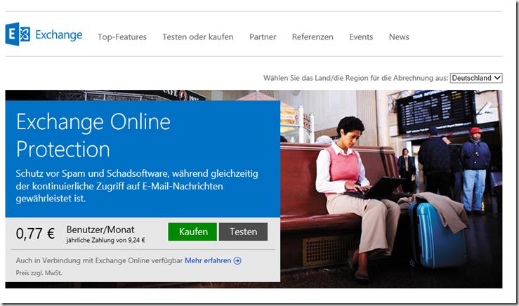 Exchange Online Protection