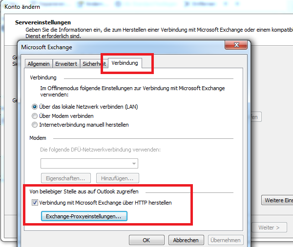 Exchange 2010 Und Outlook 2016 Autodiscover