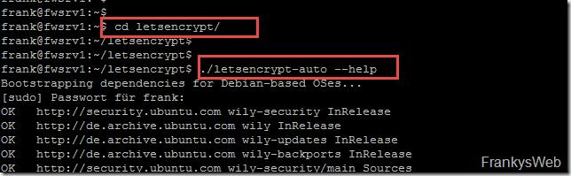 Let's encrypt Client