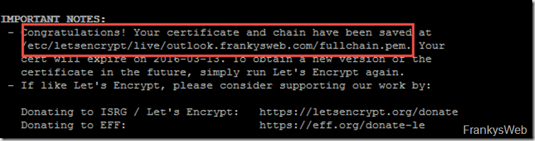 Lets Encrypt Client