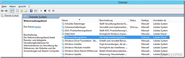 Webverwaltungsdienst