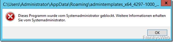 Softwareeinschränkung