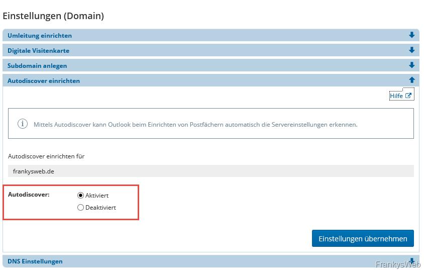 Exchange Autodiscover Und Strato Webhosting