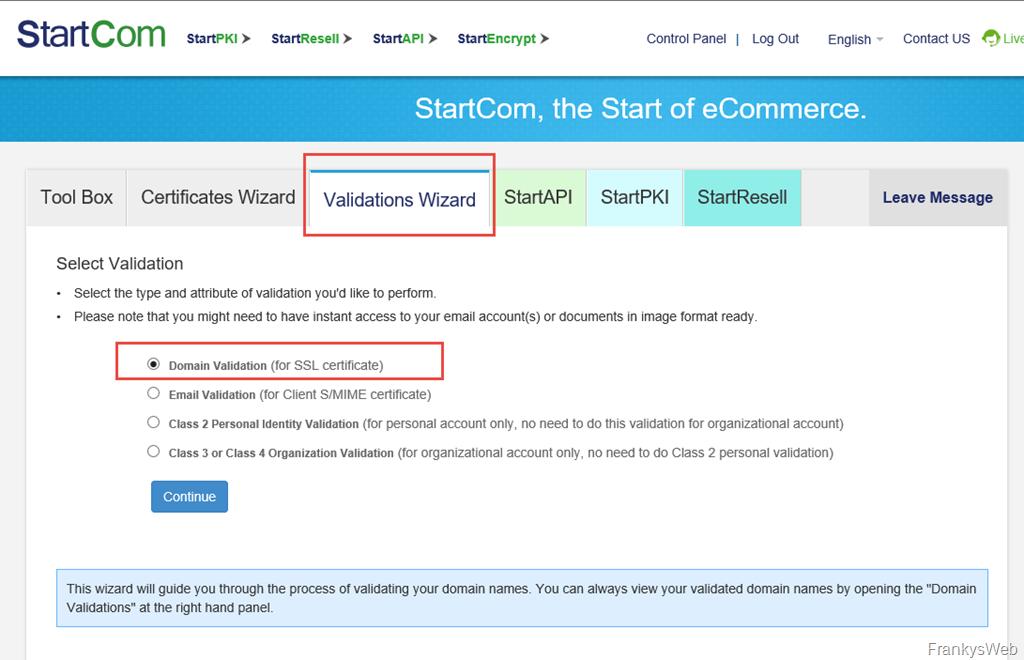 Kostenlose SAN-Zertifikate auch bei StartSSL