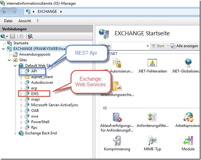 Exchange Server 2016 REST Api - Frankys Web