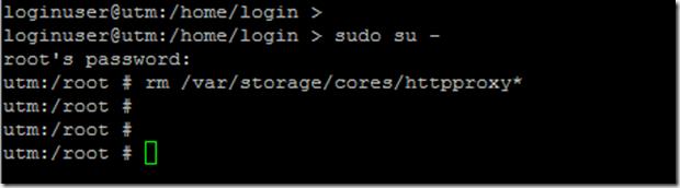 Sophos UTM: HTTPProxy stürzt ab