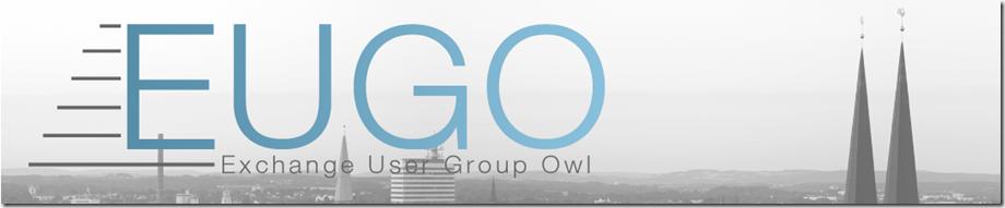 Exchange User Group OWL–Jetzt noch schnell anmelden