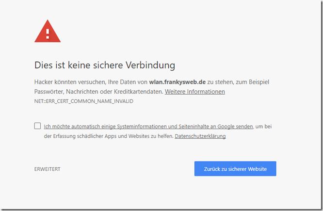 Google Chrome vertraut Symantec CAs ab 2018 nicht mehr