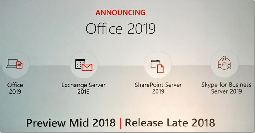 Microsoft kündigt Office 2019