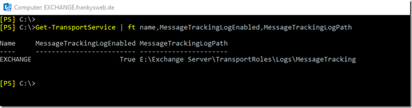 Exchange Message Tracking Logs mit PowerBI visualisieren