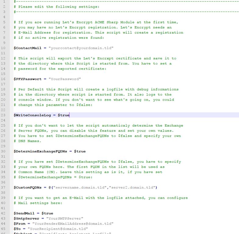 Certificate Assistant Jetzt Auch Fr Exchange 2013 Und Server 2012
