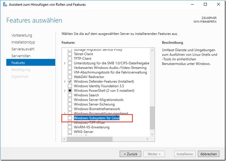 Windows Server 2019: Die Neuerungen / Altbekanntes