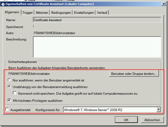 Certificate Assistant: Jetzt auch für Exchange 2010 und Server 2008 R2