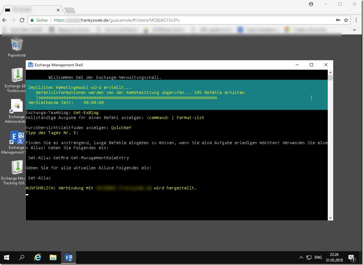 RDP im Browser: Apache Guacamole und Sophos UTM