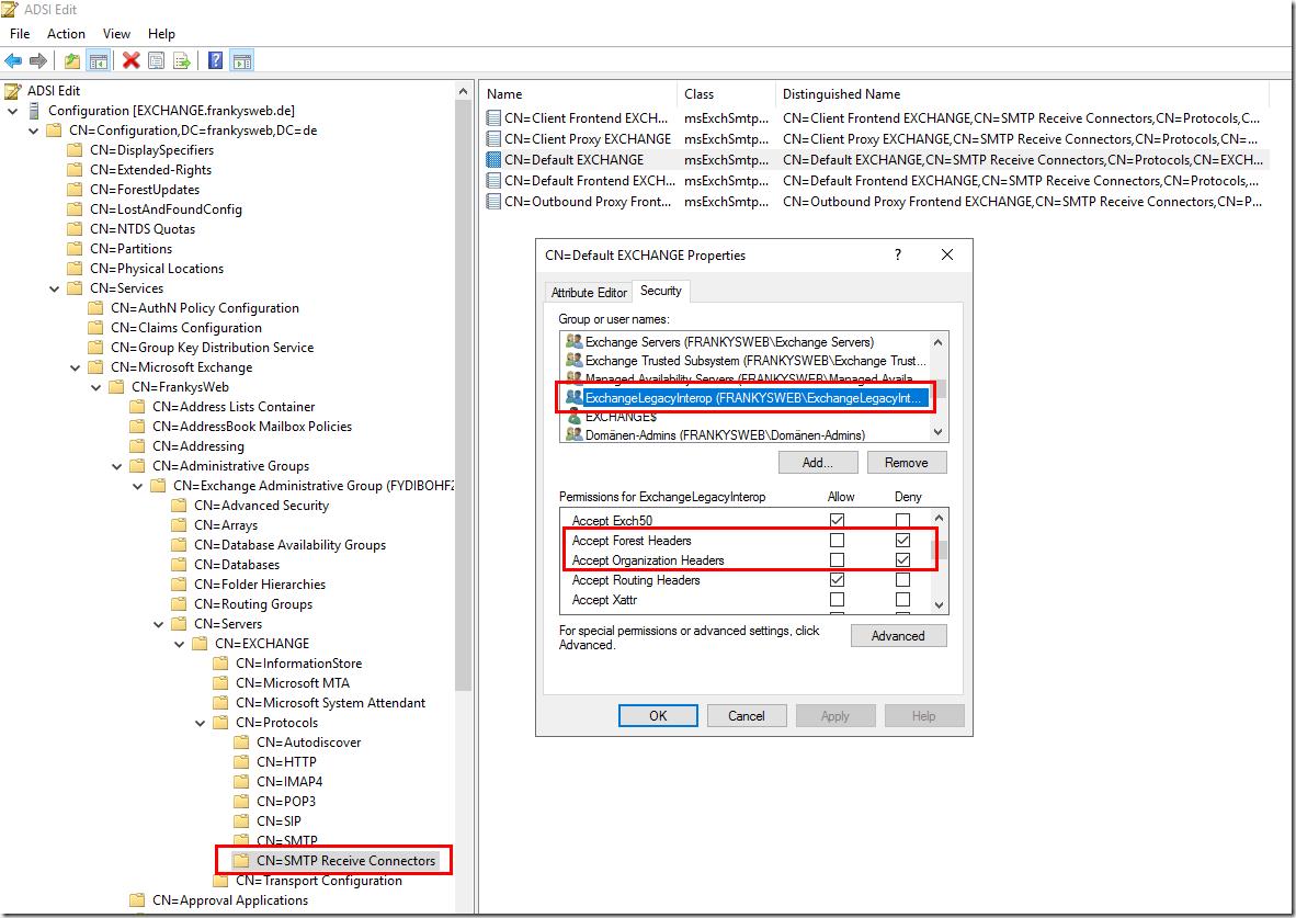 Exchange Server verschickt keine OOF-Mails nach Migration