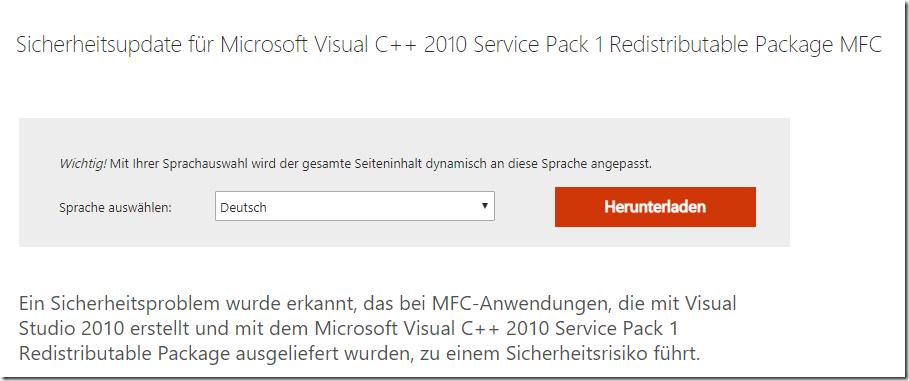 Exchange Server: Update KB2565063 muss (erneut) installiert werden