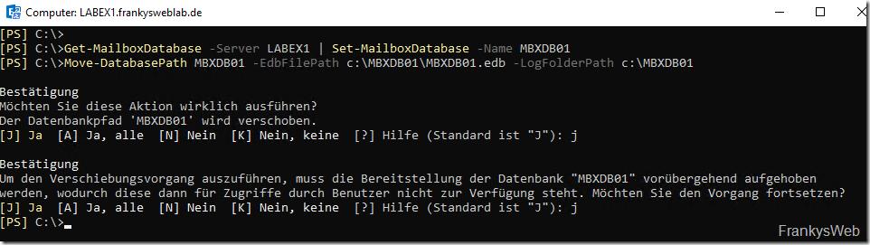 Exchange 2019: Die Basiskonfiguration