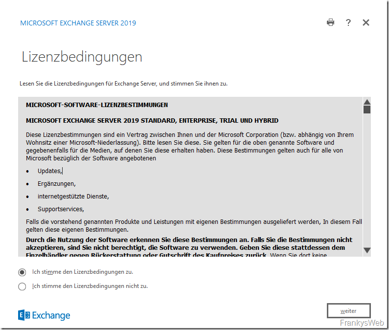 HowTo: Migration von Exchange 2016 zu Exchange 2019