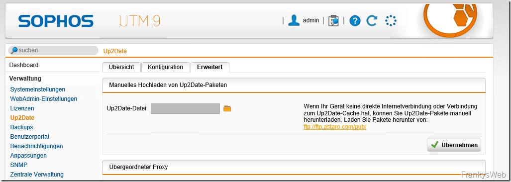 Sophos UTM 9.6 ist verfügbar