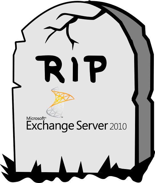 Exchange 2010 Support Ende - RIP