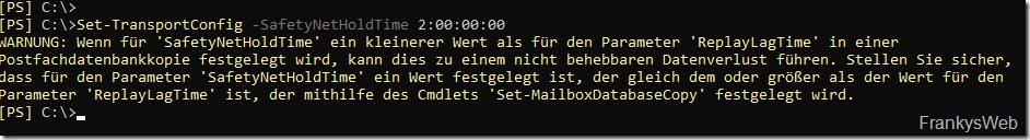 Exchange 2016 DAG: mail.que wird zu groß (Warteschlange)