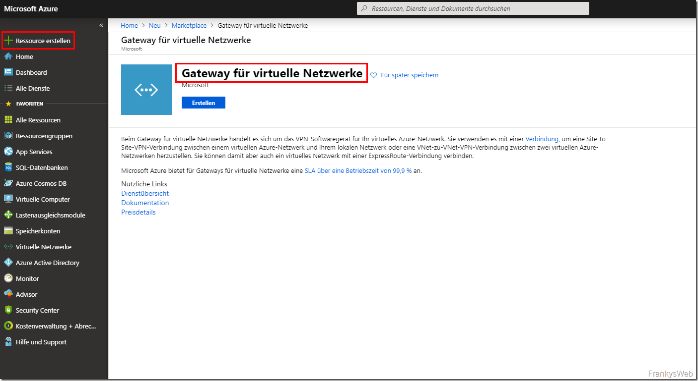 Azure Gateway