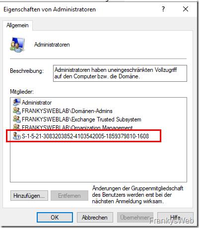 Script: Benutzer mit lokalen Admin Rechten gegen Gruppen ersetzen