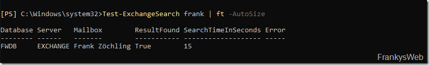 Exchange 2019: Probleme mit der Suche / Suchindex