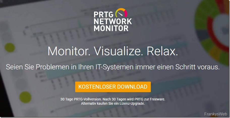 Monitoring PRTG