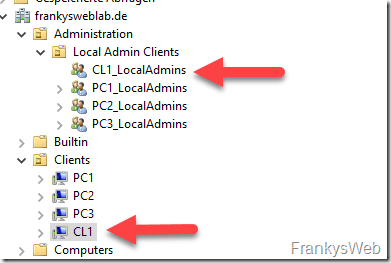 Create Local Admin Groups
