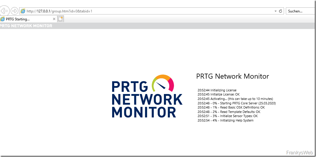 Exchange Server Monitoring: PRTG