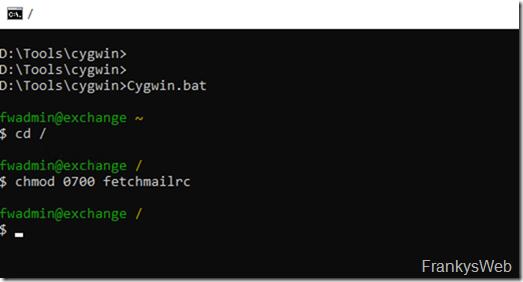 Fetchmail Konfiguration