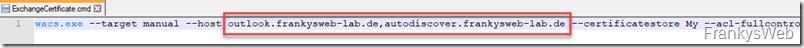 Exchange Certificate Assistant: Keine neue Version, aber eine (bessere) Alternative (WIN-ACME)