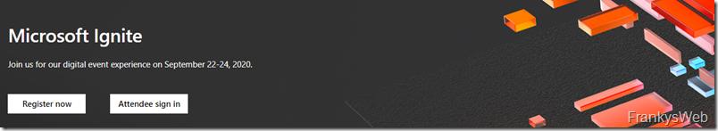 Tipp: Microsoft Ignite findet online statt (kostenlos)