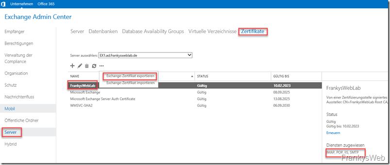 Exchange Server: Neuinstallation ohne Datenverlust (Beispielsweise nach Angriff)