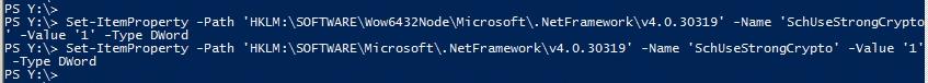 TLS 1.2 aktivieren