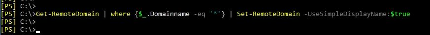 Remotedomains konfigurieren